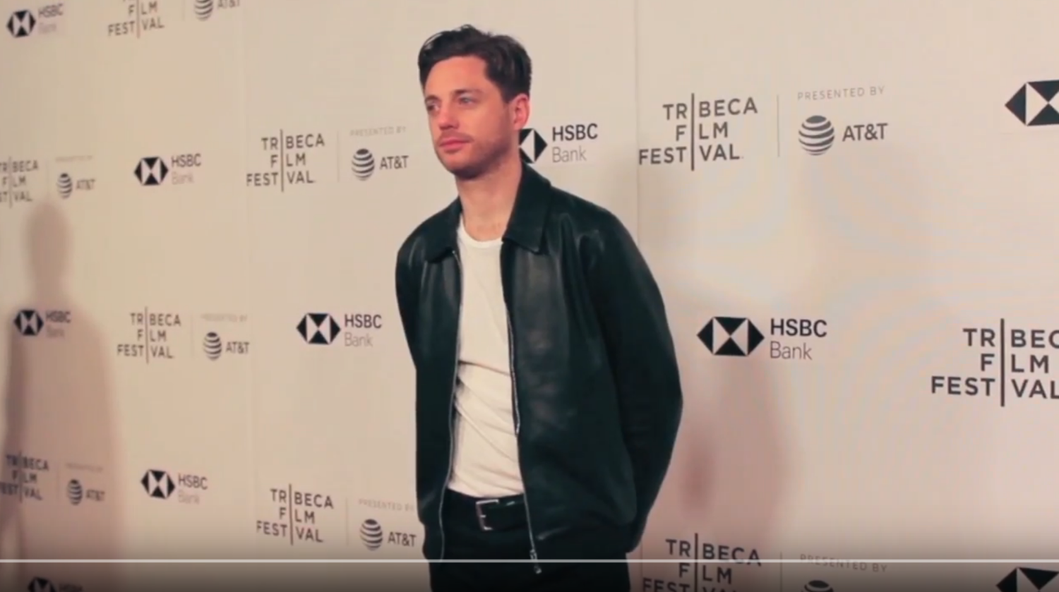 Video) James talks Jellyfish on Tribeca red carpet — JELLYFISH