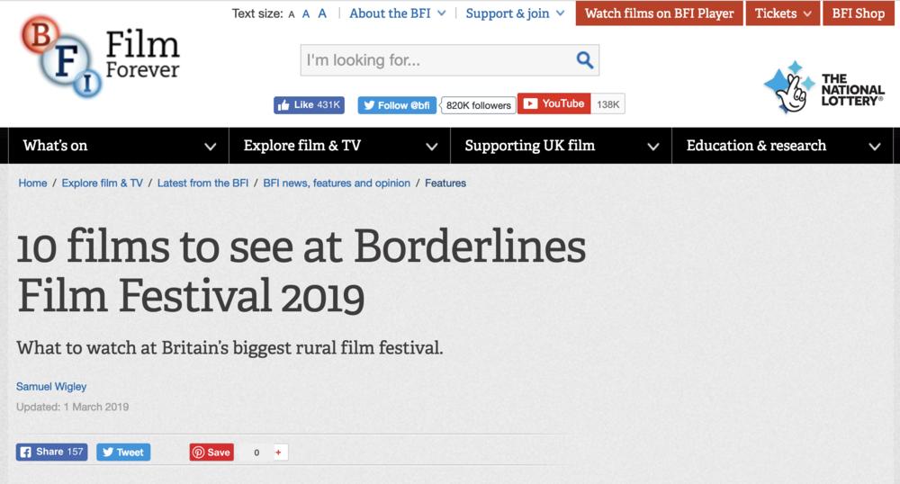 BFI Borderlines