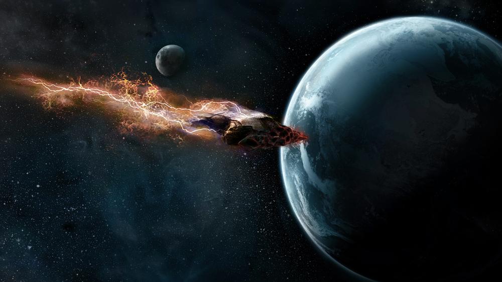 Alien Meteor design