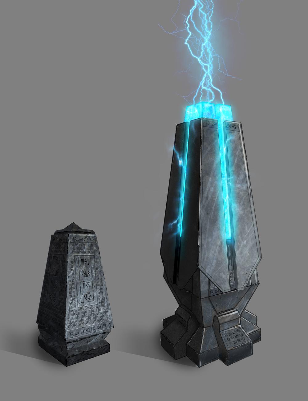 Crytid obelisk concept