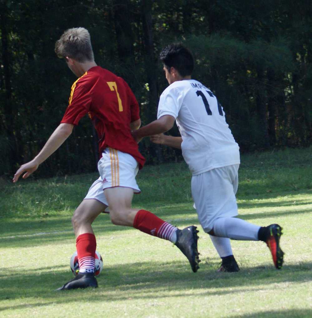 Pictured above, Tripp Lankford #7, playing for AFC Lightning.