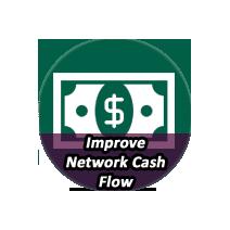 IMPROVE NETWORK CASH FLOW