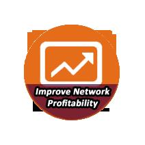 IMPROVE NETWORK PROFITABILITY