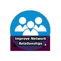 IMPROVE NETWORK RELATIONSHIPS