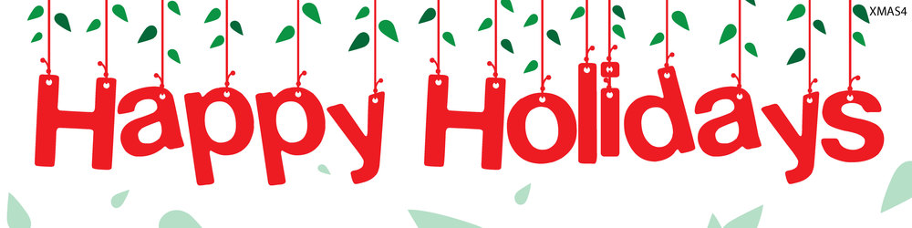 Happy Holidays Banner – Cliparts