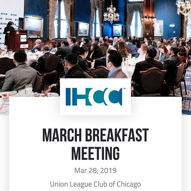 The Illinois Hispanic Chamber of Commerce (IHCC) invites you to join more than 200 entrepreneurs and business leaders on March 28th at the Union League Club from 8 to 10 a.m. The March meeting will focus on development in Chicago - attend and hear directly from the developers. Registration link in bio.  Developers and projects include:  #Hilco - #Exchange55 Project  #RelatedMidwest - #The78 project  #SterlingBay - #LincolnSquare project