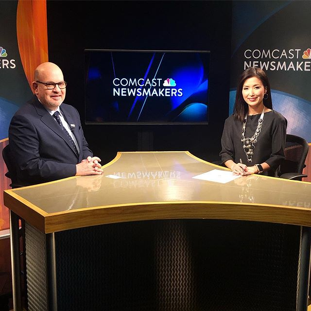 Ready, Set, Action!  @jaime.dipaulo will be featured on @comcastnewsmkrs Thank you @comcastbusiness for your continued support.
