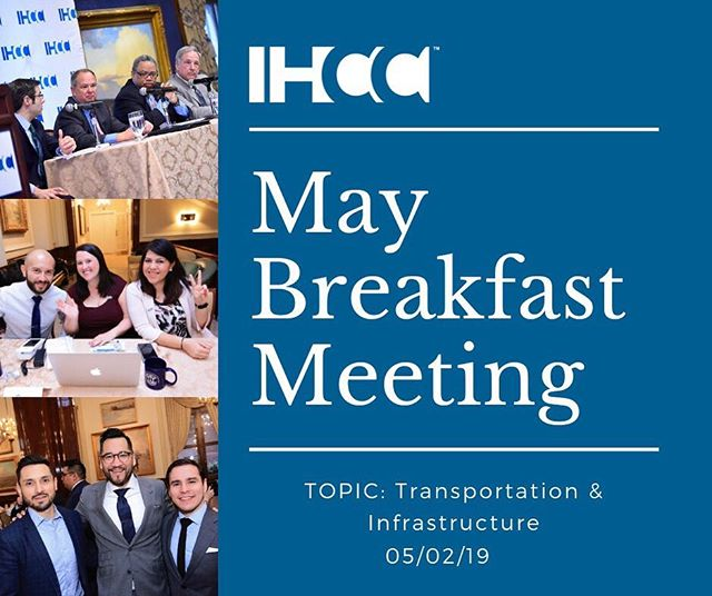 The Illinois Hispanic Chamber of Commerce (IHCC) invites you to join more than 200 entrepreneurs and business leaders on May 2nd at the Union League Club from 8 to 10 a.m.  The theme for the May meeting is transportation and infrastructure. Illinois transportation agencies are investing over $20 billion in infrastructure over the next decade. These investments will result in a transformation of our transportation systems as we know them. Join us for a conversation regarding these opportunities. Registration link in bio. #transportation #infrastructure #cityofchicago #procurement #chicagodepartmentoftransportation #cta #idot #illinoistollway #engineering #construction #roads #highway #professionalservices #may #ihccevents #networking