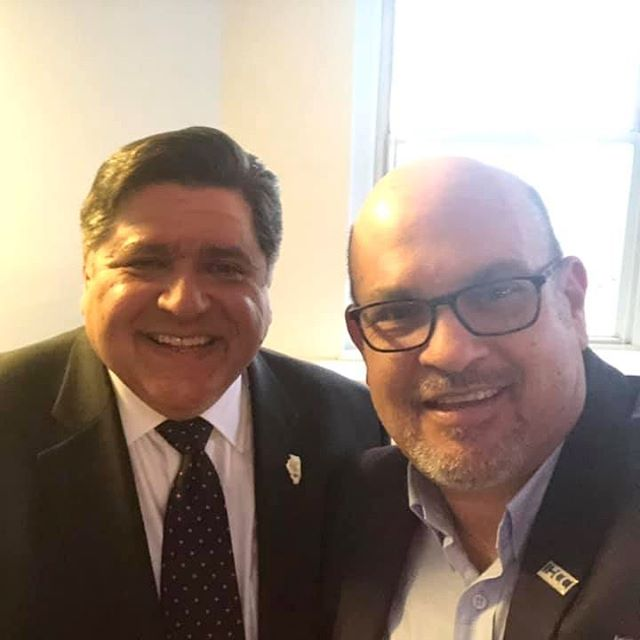 @jbpritzker and @jaime.dipaulo attending the @1871chicago Alumni night!  Congrats on all the hard work @betsyzeo and team! #1871alumni