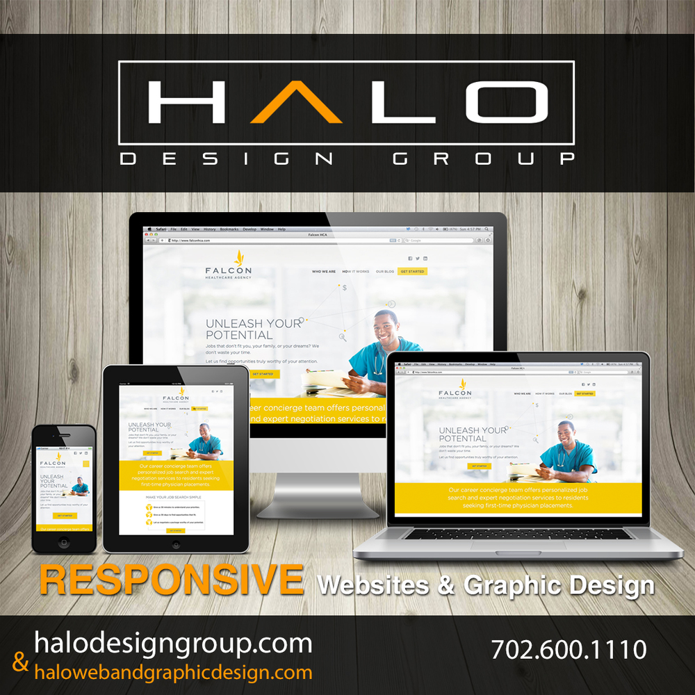 Logo's and company imagery designed by Halo Design Group in Las Vegas, Nevada.  (702) 600-1110 or scott@halodesigngroup.com