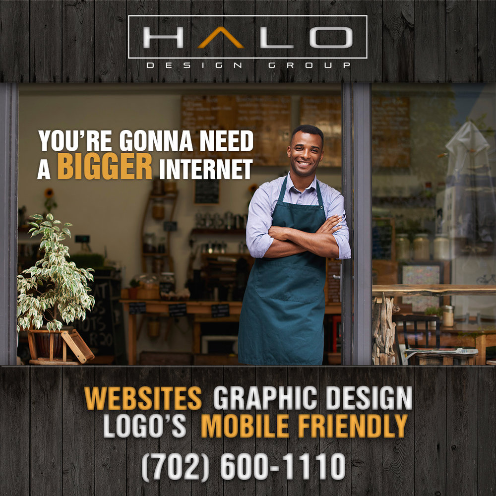 If you are opening a store or franchise and need a website or any marketing collateral, Halo Design Group can help your Brick and Mortar.