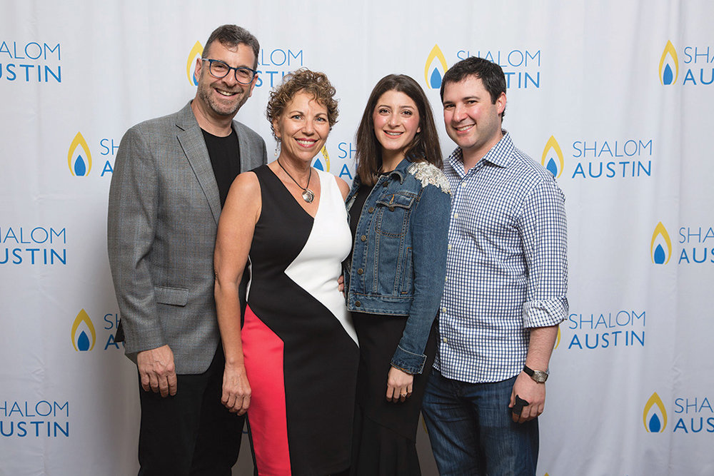 IGNITE! Co-Chairs co-chairs, Mike Krell, Dana Baruch, Stephanie Yamin and David Kline. (David Finkel Photography)