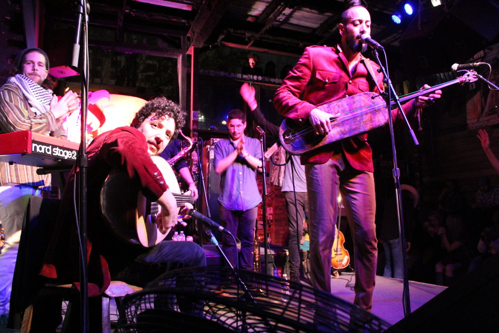Yemen Blues, featuring Omer Avital energizes the crowd at Flamingo Cantina during SXSW Music Festival on March 15. Photo credit: Wendy Goodman