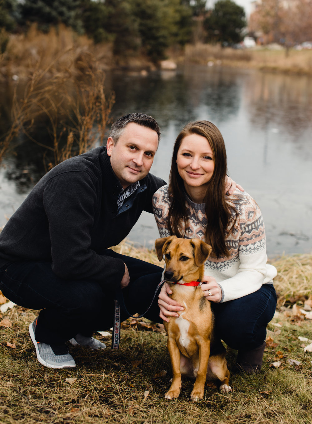 Hannah was a pleasure to work with, first, she met us at a park near our home so the session was convenient for our family. Hannah was also patient with our pup (and us) to get some great photos where we all look good, which isn't easy! We were very happy with the quality of the photography and have received many compliments on the photos. Her photos will be displayed in our home for many years to come.  -Tara & Ben Wright