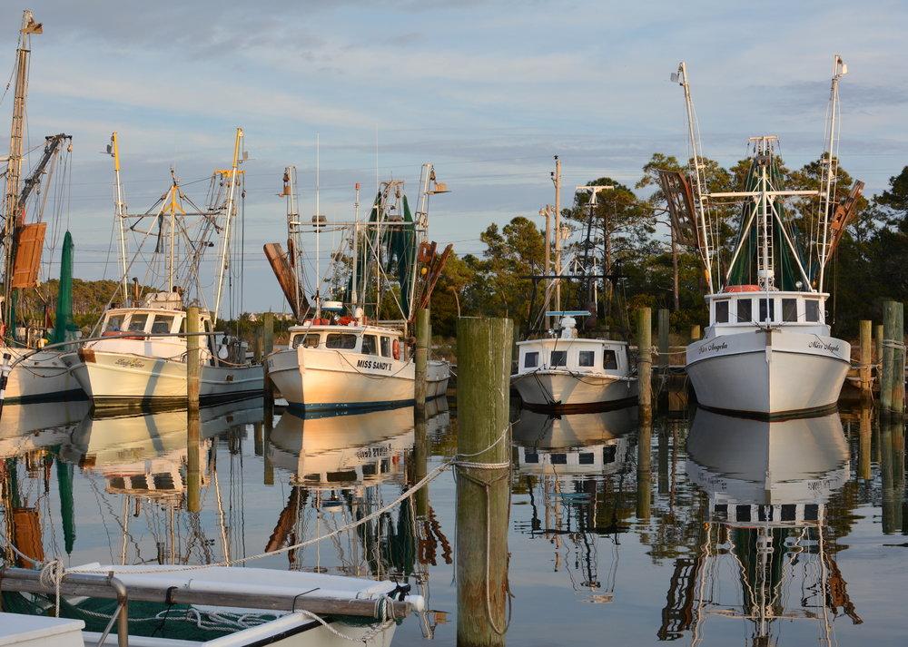 Harkers Island Harbor
