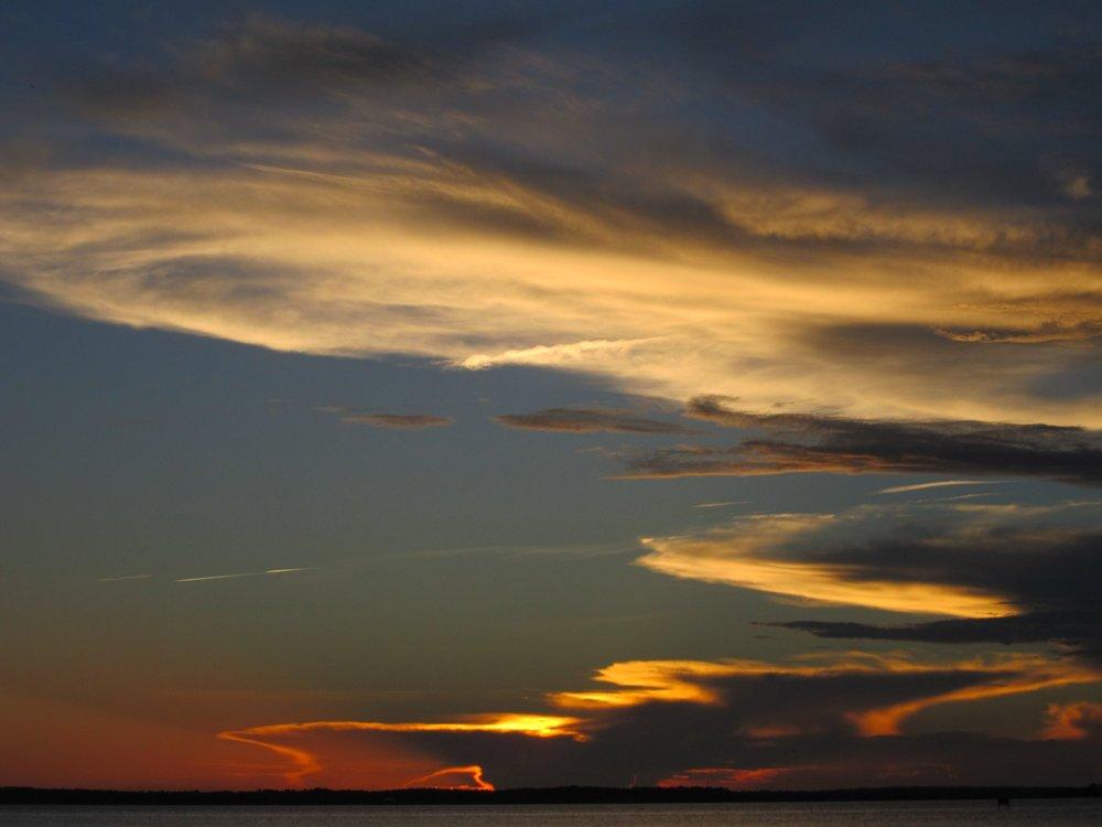 Cedar Island sunset