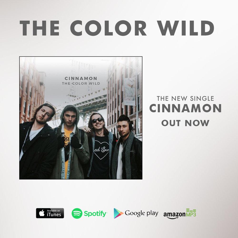 "NEW MUSIC! - ""CINNAMON"""