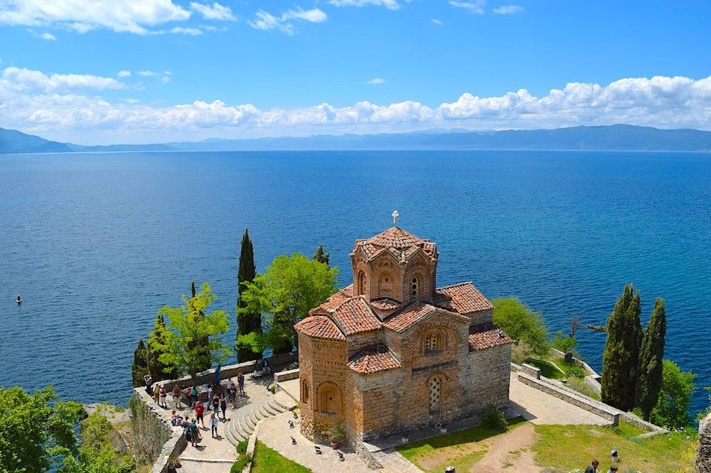 The Church of St. John at Kaneo in ohrid...is this not the most beautiful view?