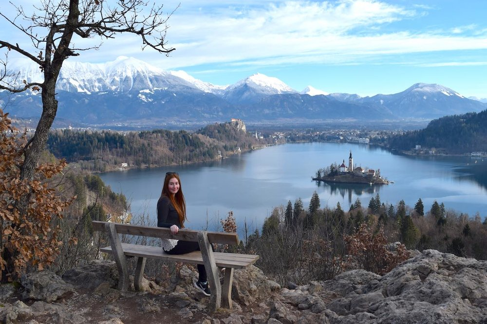 Yes...this is taken in winter because it's the best shot i have of lake bled, but it's equally pretty in summer (if you don't get a cloudy day which i sadly did!)