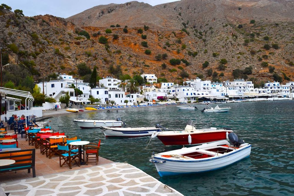 loutro, crete, greek islands