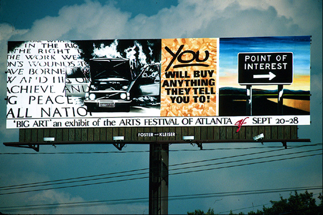 YOU, (1987) billboard.