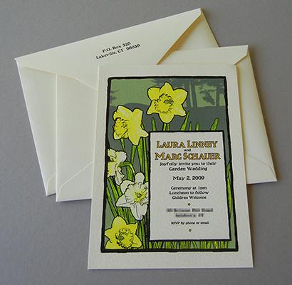Linney-Schauer invitation