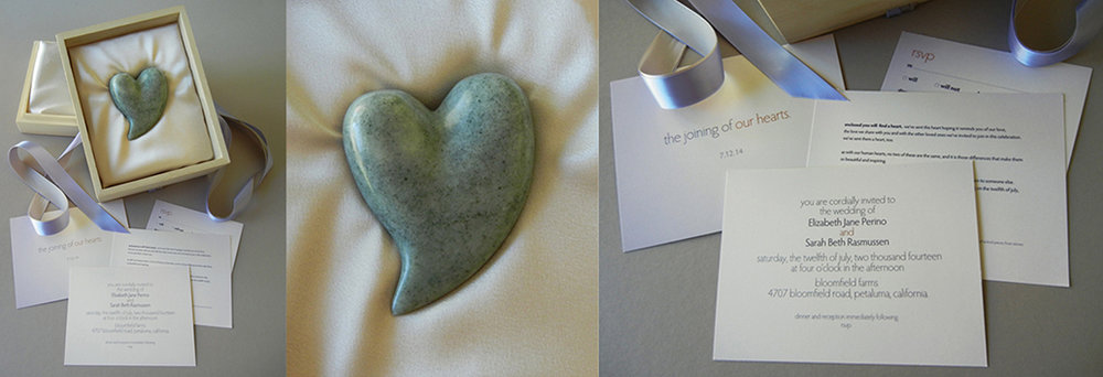 Wedding parcel:  Precious Heart