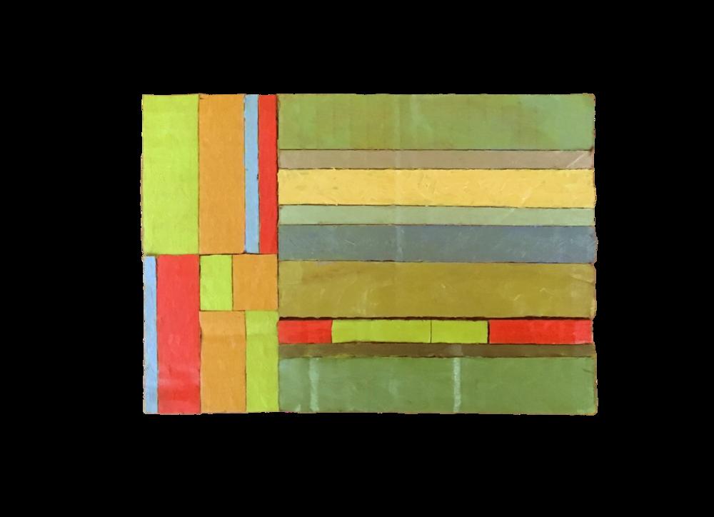 DECKEL HIER LOSEN (2018) oil on cardboard 148cm x 210cm €100.