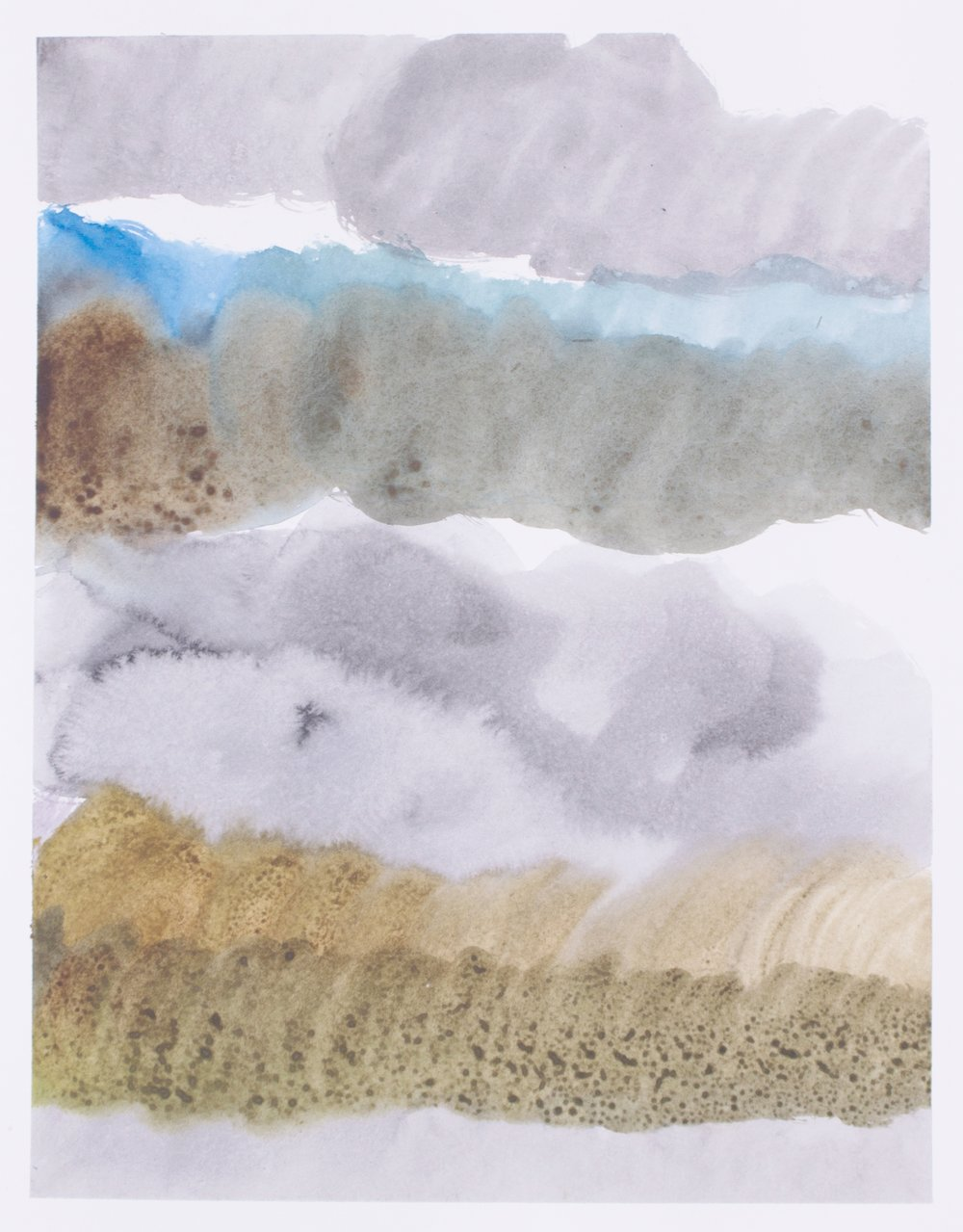 aimlessly pretty (II) 101  watercolour on fabriano HP paper  36cm x 28cm  2017