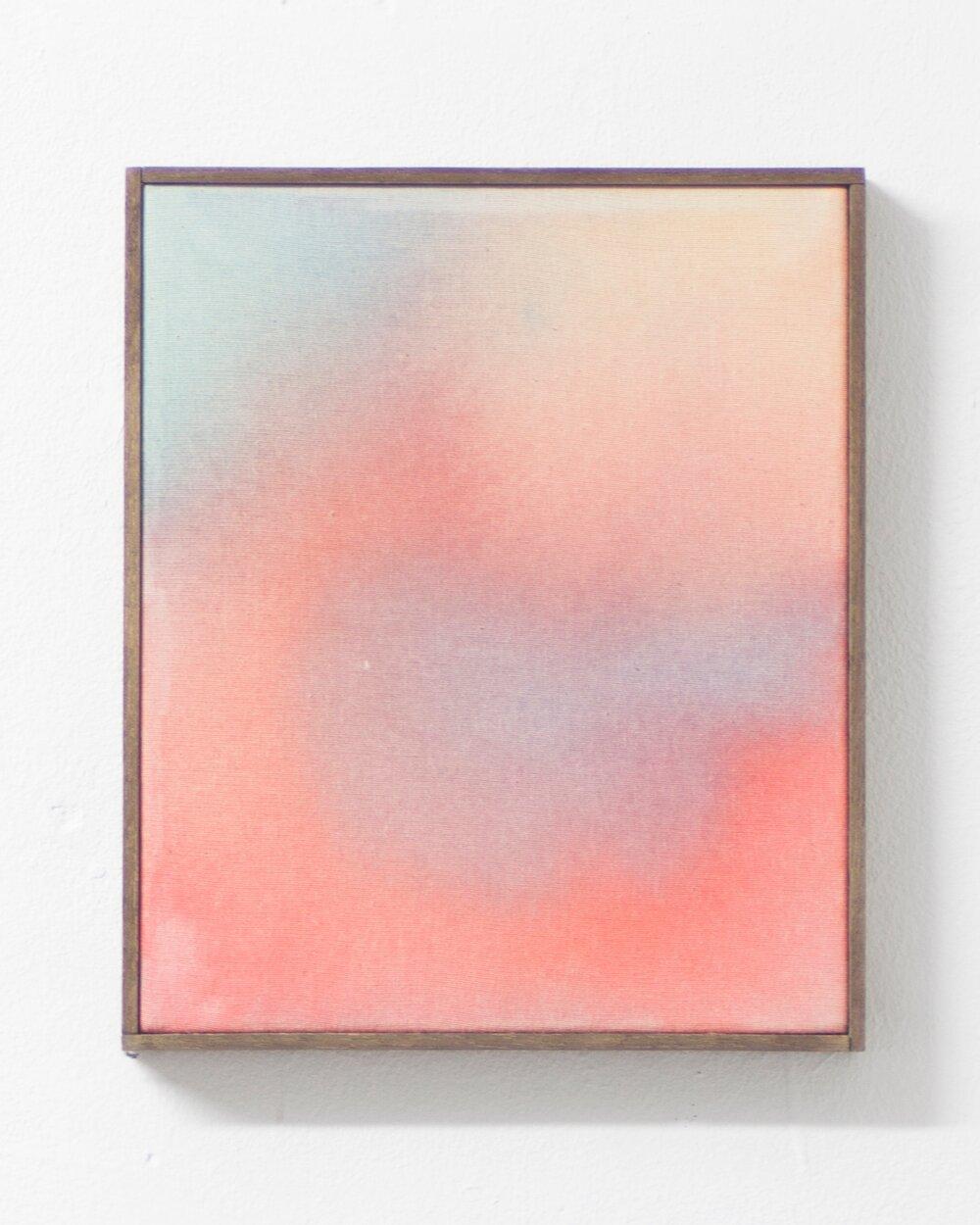 nomadic extreme,  (2017)   acrylic on canvas 30cm X 25cm