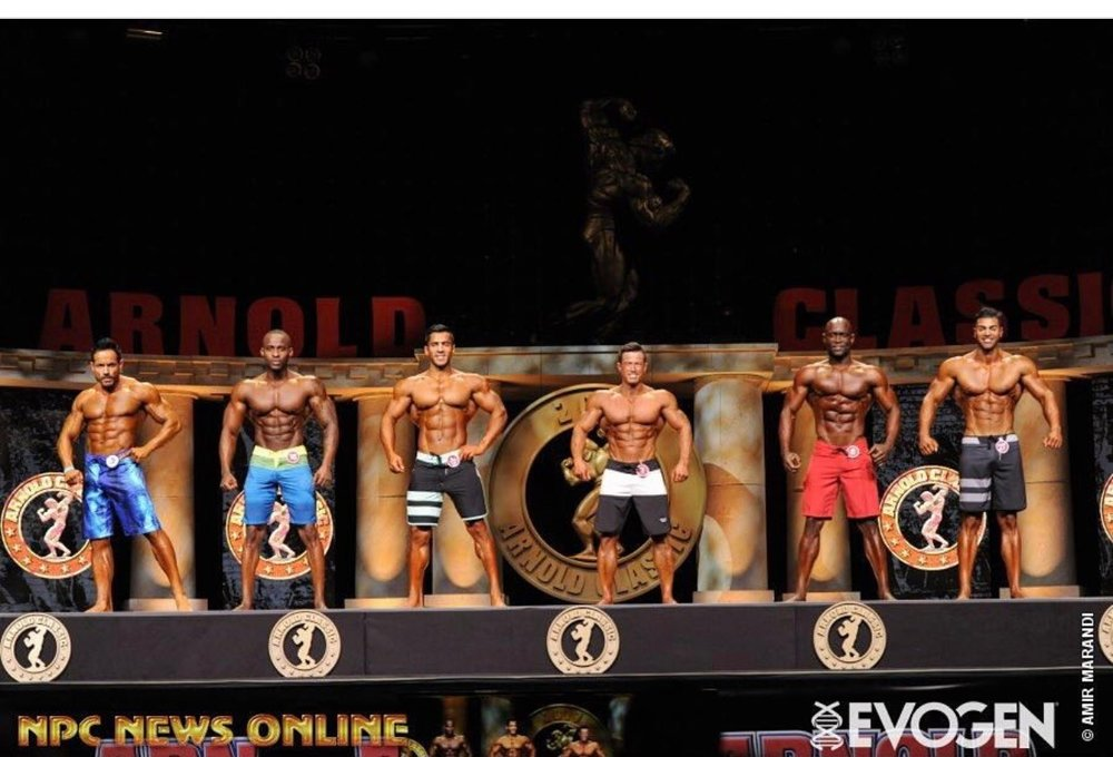 IFBB Pro Men Physique Comparison at the 2017 Arnold Sport Festival in Columbus, Ohio