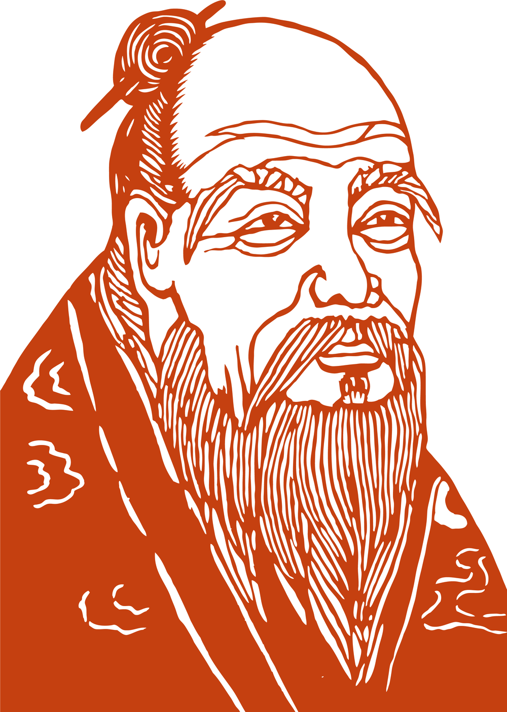 Laozi (Lao-Tzu) - ancient Chinese philosopher (circa 400 - 600 BCE) and author of Dao De Jing (Tao Te Ching)