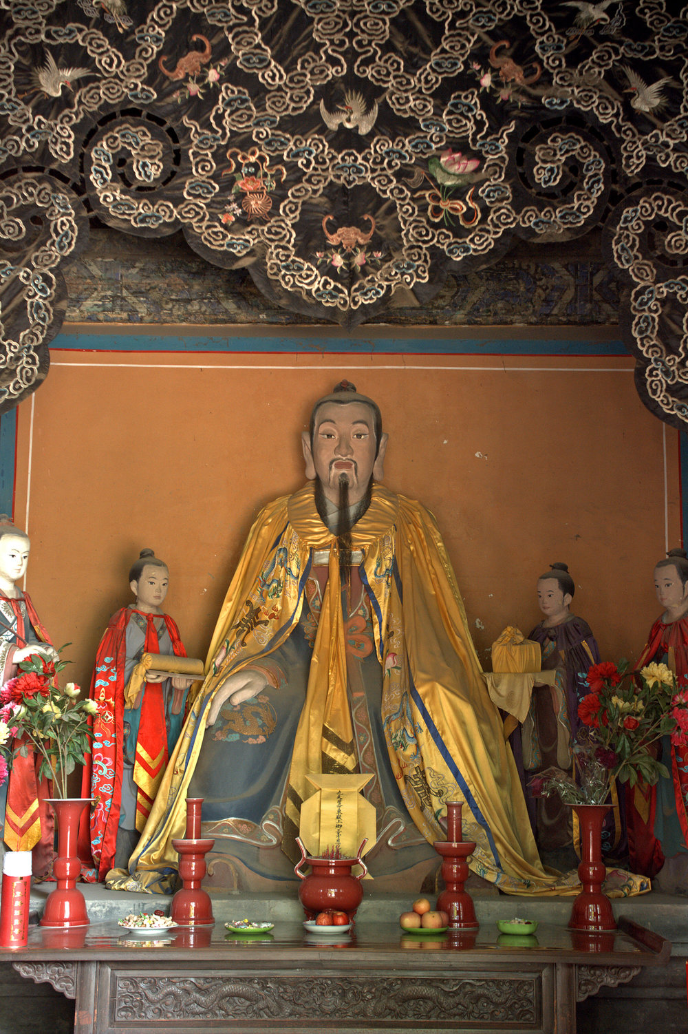 Daoist deity, Dongyue temple, Beijing, China