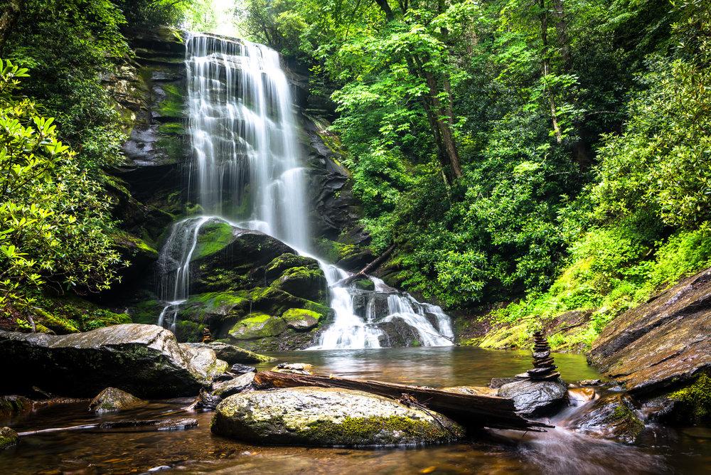 Upper Catawba Falls, North Carolina
