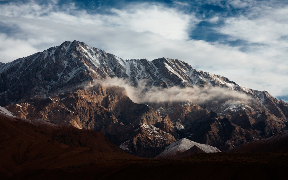 Kunlun mountains - birthplace of Daoist yoga