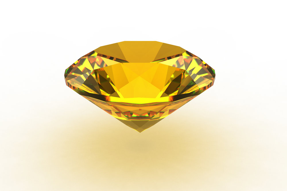 Yellow Topaz - this stone tends to warm energy related to the planet Jupiter
