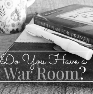 Deb Bolinger   debbolinger@hotmail.com    Preparing Your War Room For Battle  Every trial you face is fought on the battlefield of prayer. It doesn't matter if you're fighting for your health, your relationships, your finances or if you are fighting for others. The truth is, every victory or defeat, is fought in the spirit; before it manifest itself in the natural. A War Room is a place where you surrender your heart and stand in the gap for others. Then find the strength to walk outside that War Room armed and ready for battle. Where do you meet God and where does He expect to find you?   Meeting Time:  Tuesday evenings 6-8pm   Meeting Location:  Siloam Springs, AR