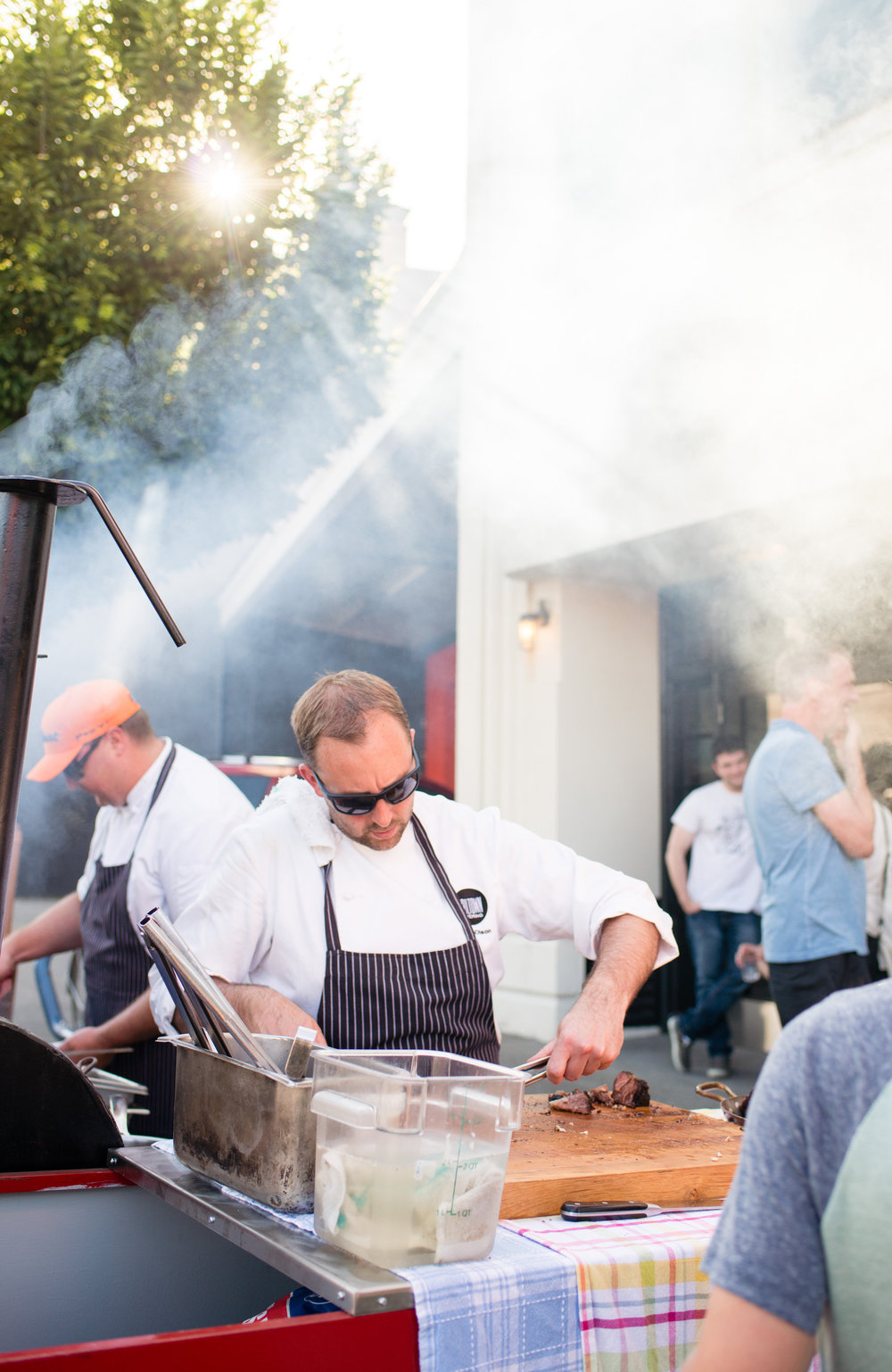 RAILTOWN REVIVES POPULAR SATURDAY 'TAILGATE'BARBECUE EVENTS THIS AUGUST - July 25, 2018After a two-year hiatus, Railtown Cafe's perennially sold-out Saturday al-fresco-style Tailgate Barbecues are back for two exclusive events at their original location in the heart of Vancouver's historic Railtown District on August 18 and 25 from 4 to 9 p.m.Railtown Chefs and Co-Owners Dan Olson and Tyler Day will fire up their custom-built, 12-foot smoker/barbecue barrel to heap plates high with mouthwatering, slow-smoked brisket and pork shoulder and beer-brined chicken and brats, as well as a choice of made-from-scratch sides. Tickets for the Railtown Tailgate Barbecue events on August 18 and August 25 are available for $29 per person ($19 vegetarian) plus tax, both online at railtowncafe.ca/events and onsite. All tickets purchased online in advance include a complimentary drink voucher (up to $6 value).