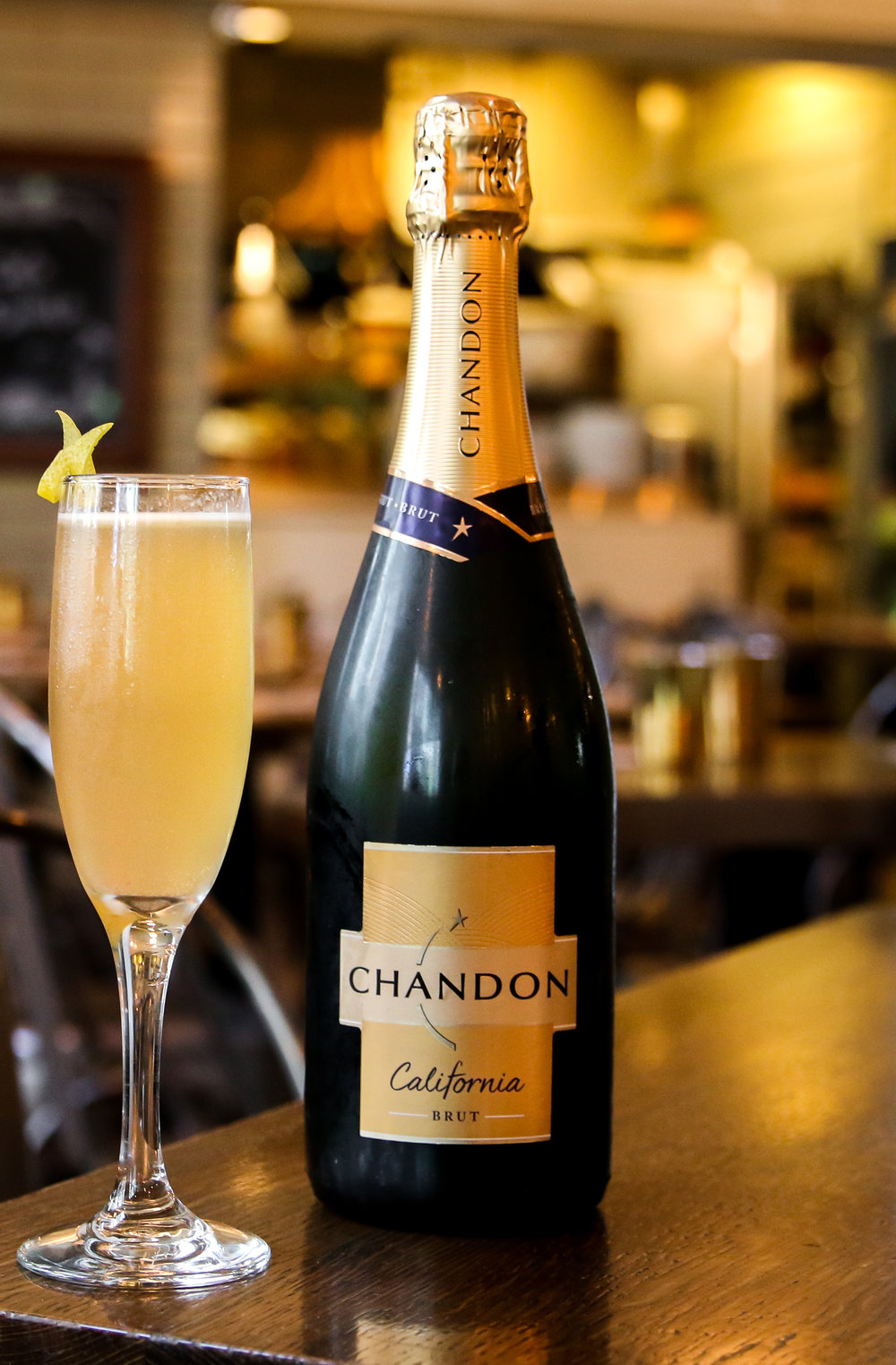 CAFÉ MEDINA MARKS NEW PARTNERSHIP WITH DOMAINE CHANDON AT EXCLUSIVE DINNER - October 18, 2018Café Medina will help winemaker Domaine Chandon celebrate its 45th anniversary by breaking out the bubbles as the downtown brunch destination welcomes the Napa Valley vintner for an exclusive 'Sparkling Supper' dinner on Monday, November 5.The event, which marks Medina's new exclusive partnership with the Golden State winery, begins with a stand-up reception at 6:30 p.m. showcasing Medina Bar Manager Marc Slingsby-Jones' original Last Flight cocktail featuring gin, green Chartreuse, lavender syrup and Chandon California Brut. Guests will then enjoy a three-course seated meal prepared by Executive Chef Chris West and paired with a variety of Chandon's sparkling wines.Tickets to the Café Medina Sparkling Supper on Monday, November 5 are available for $75 per person plus tax and gratuity and can be purchased online.