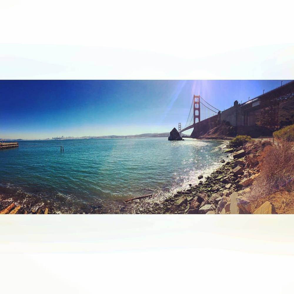 Damn, places like this make me appreciate The Bay more, kinda hard to ever move back east haha! #bayarea #goldengatebridge #SF #thecity