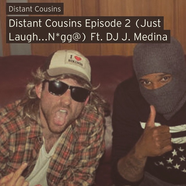 Shout out to @thedistantcousins for the feature! Be sure to follow them on Souncloud, Twitter and on the Insta! Funny ass dudes! If you want brighten your Friday please listen. 😎     https://soundcloud.com/thedistantcousins/distant-cousins-episode-2-just-laugh