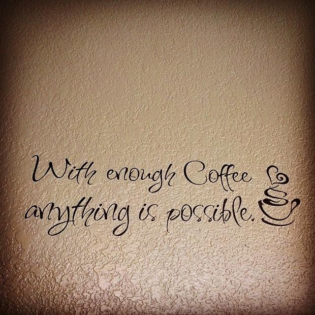 Couldn't agree more! #saturday #morning #coffee #daretodream