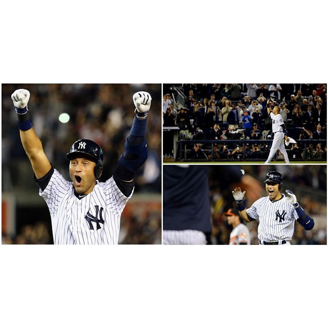 Thanks for the amazing memories growing up! #TheCaptain #Re2pect #TrueYankee #salute