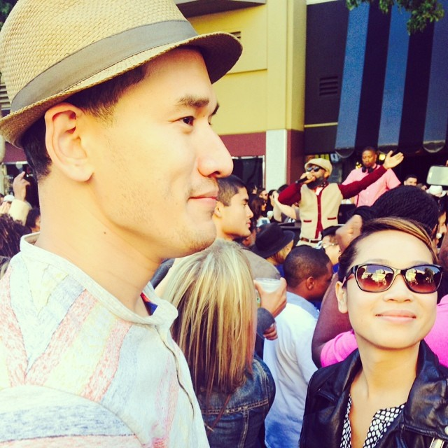 With my beautiful lady @maygram | photo credit to @solsischris #fillmorefestival #SF