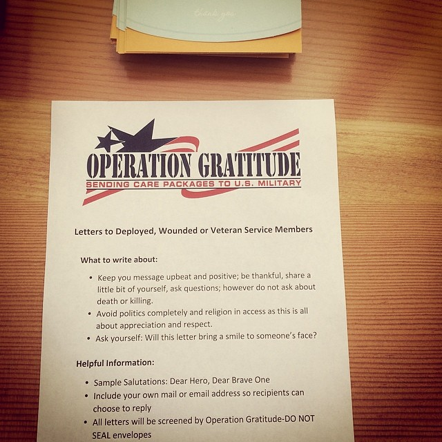 Great thing the company is doing today! There's definitely not enough being done to help our #veterans. We hear too many stories about soldiers returning home emotionally, physically and even financially hurt. I am thankful for those that have stood by me. Remember to help our veterans! #thankyou #carepackage #loveourveterans