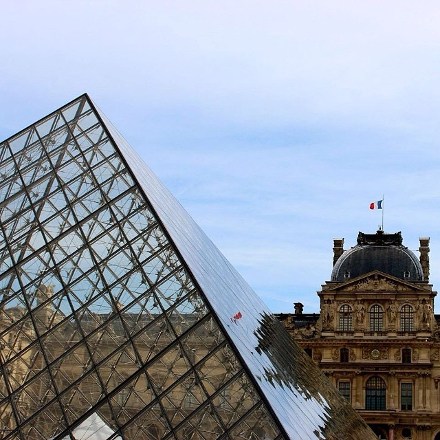 One of my favorite shots from the trip. Posted the pics on my Facebook, feel free to browse through them. #thelouvre #paris