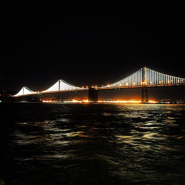 Decided to take some photos of the Bay Bridge finally! #californialove #SF