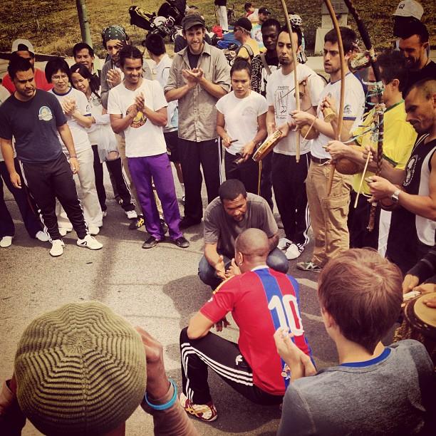 Capoeira in Oakland! #beautiful