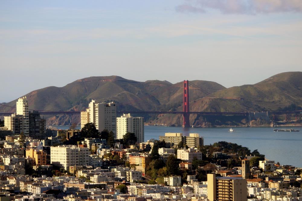 Golden Gate Bridge shot from the office!