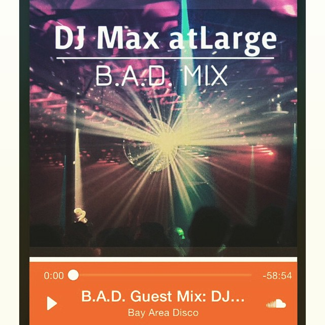 Bay Area Disco would like to thank you all for your support and as promised 2015 is going to be a special year for us. Our first ever guest mix is from DJ Max atLarge, an up-and-coming DJ and producer based out of Beijing and who has helped create and shape B.A.D. @maxatlarge #DJ #disco #bayarea #SF #Oakland #beatstokeepyoumoving #bayareadisco